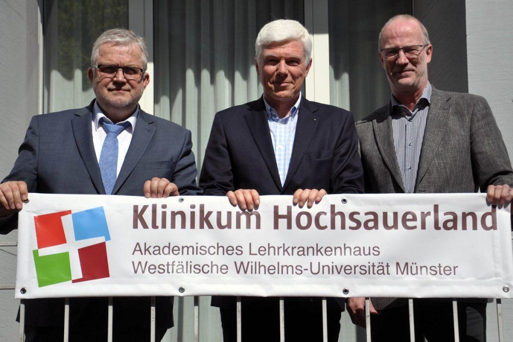 Klinikum Hochsauerland startet mit gewaltigem Investitionsprogramm: 12 Mio. Euro in Krankenhausstandorte