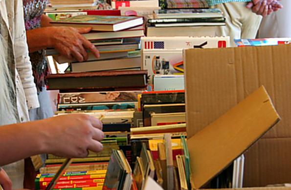 Bücherflohmarkt von Günter Grass bis Diana Gabaldon