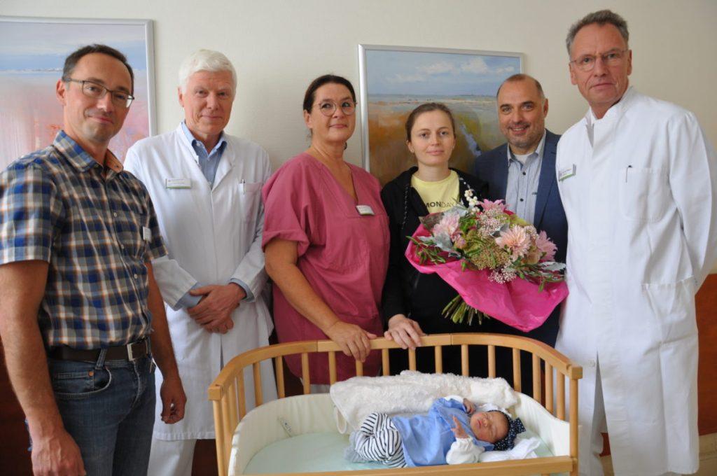 Die kleine Klea ist die 1.000. Geburt des Jahres im Klinikum Hochsauerland