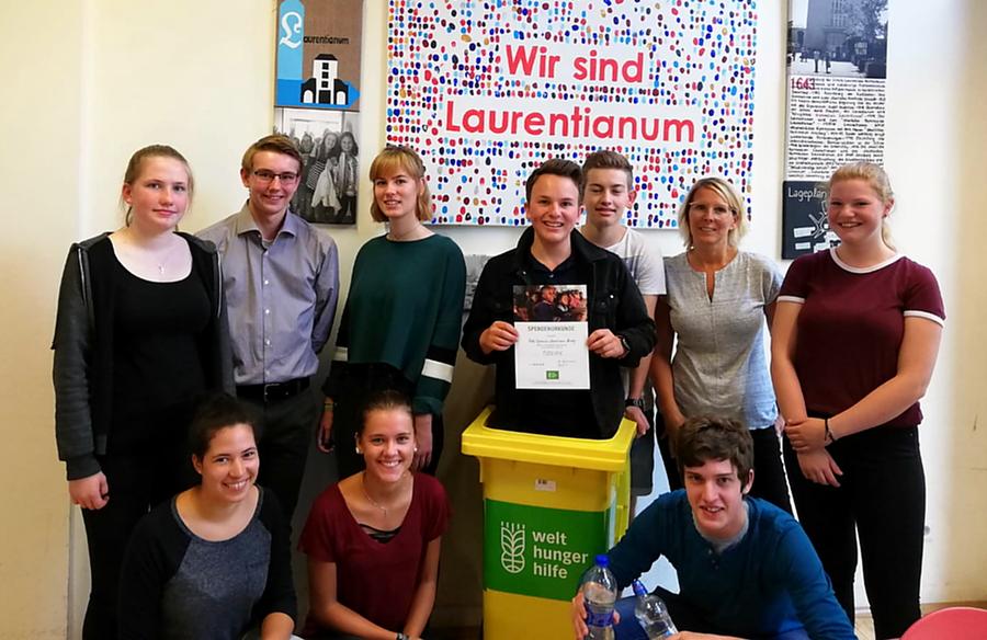 Pfandflaschenprojekt des Laurentianums unterstützt erfolgreich Kinder in Mali