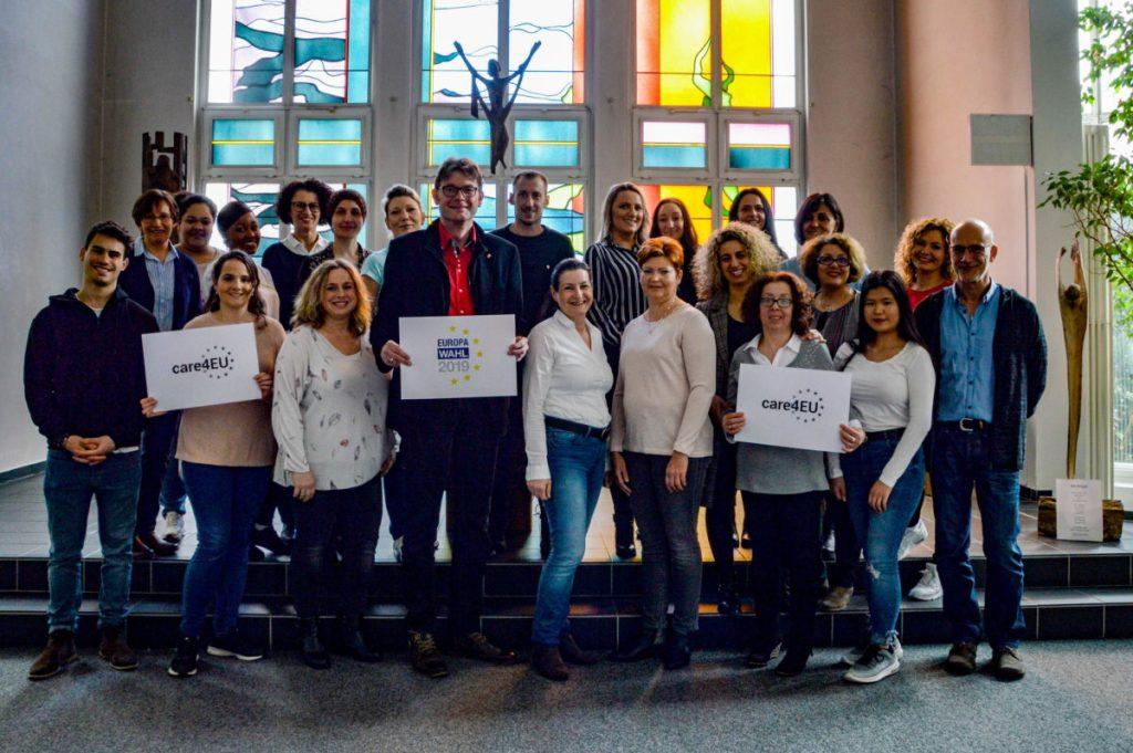 #care4EU – Caritasverband ruft zur Beteiligung an Europawahl auf