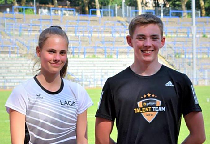 LAC-Mehrkämpfer Sven Hültenschmidt und Lilly Rahmann stark