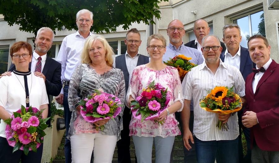 Selten gewordenes Jubiläum: Ursula Mette 50 Jahre bei Amt und Stadt