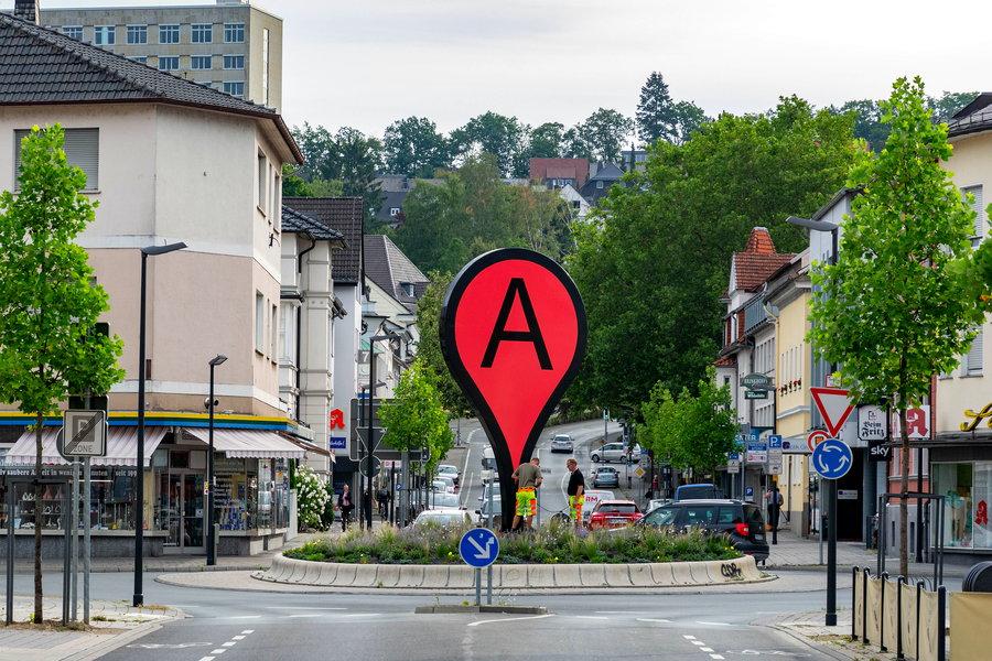 "Treffpunkt ""A"" – Gespräch mit dem Künstler Aram Bartholl"