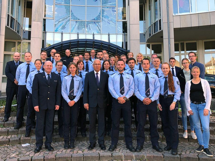 Verstärkung für die Polizei im HSK