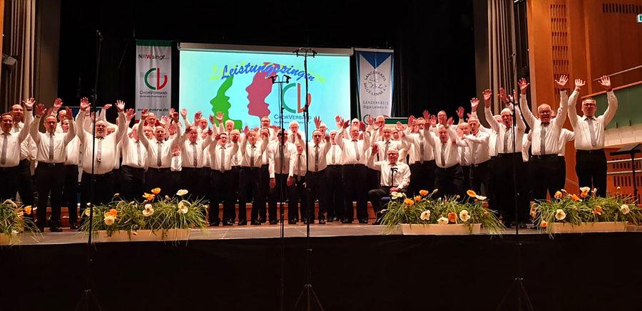 Chorgemeinschaft Voßwinkel-Höingen erneut Meisterchor