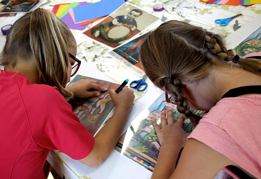 Ferien im Museum: Kinder werden selbst zum Künstler