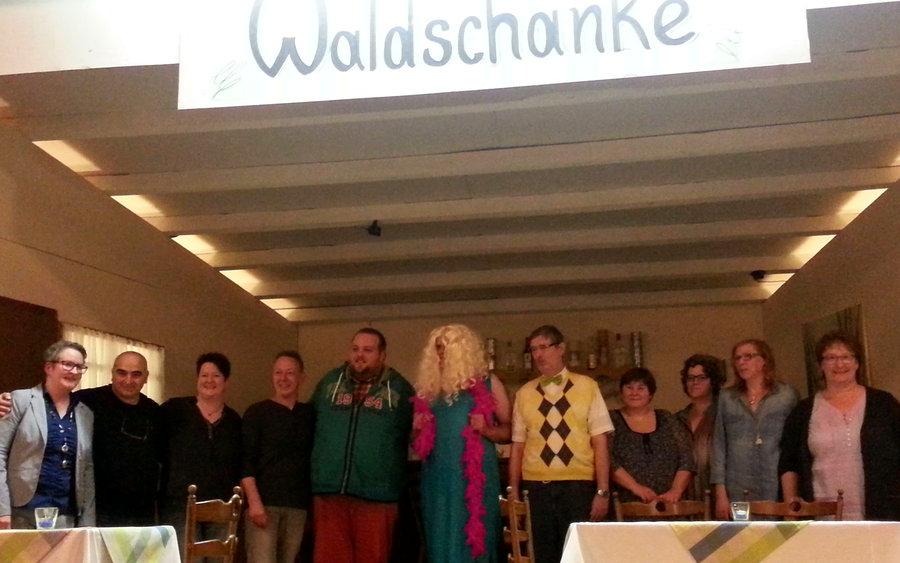 Theateraufführung zum Hubertusfest