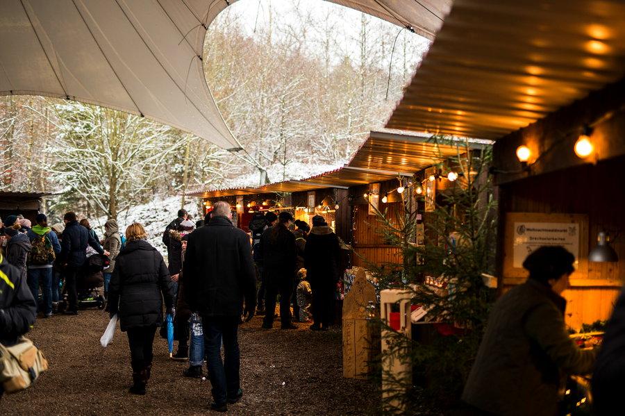 Wildwald lädt zum Weihnachts-Waldmarkt ein