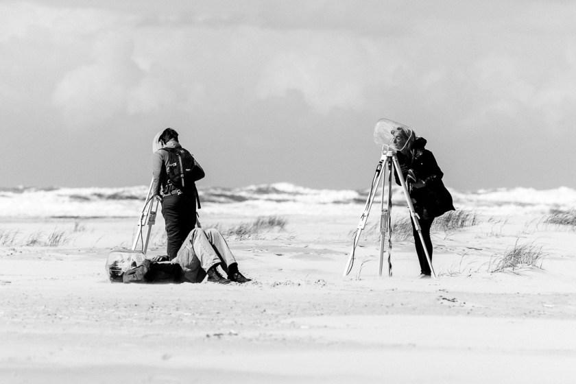 Oerolgangers bij het Frustule expeditieproject.