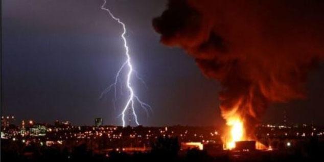 Lyn kan gjøre stor skade. Hentet fra: https://www.lightningprotection.com/lightning-damage-prevention/