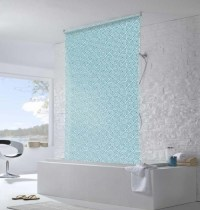 water resistant roller blinds in bathroom