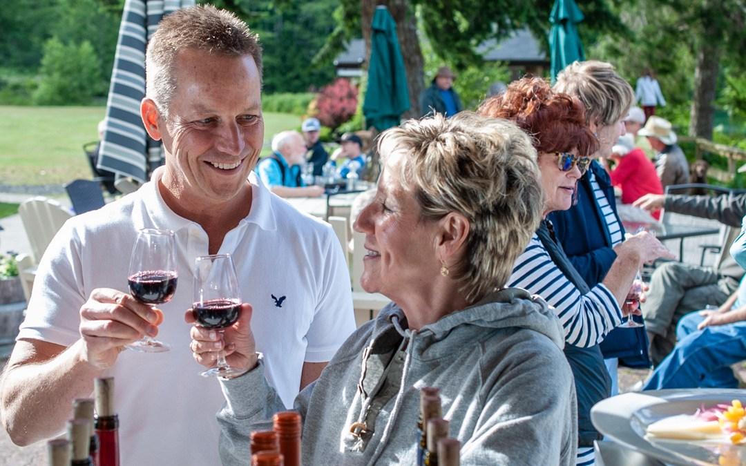 Winetasting in September