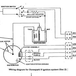 Volvo Penta Distributor Diagram House Thermostat Wiring 2.3 Ford Install