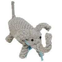 Jax and Bones Coco the Elephant Rope Dog Toy