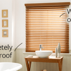 Kitchen Blinds Signature Warehouse Sale Easy To Clean Waterproof For Your Faux Wood Venetians