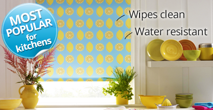 kitchen blinds area rugs for under tables easy to clean waterproof your polyester roller