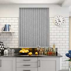 Grey Kitchen Blinds Buy Metal Cabinets Alicante Marble Silver Pvc Blackout Vertical Blind From 16 50