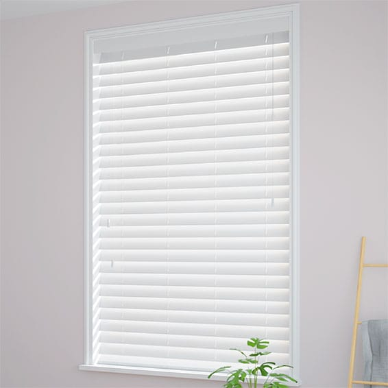 White Wooden Blinds Real Wood Amp Pure White Wooden Venetian Blinds 2go
