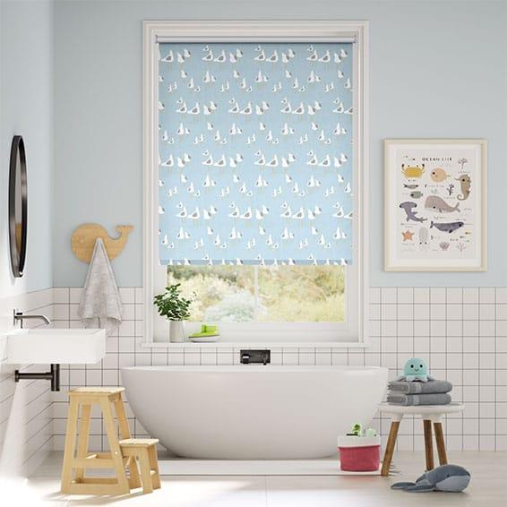 Bathroom Blinds 2go 100 Waterproof Roller Blinds for