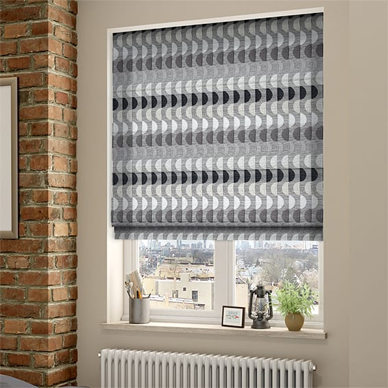 grey kitchen blinds american standard quince faucet viva spotlight roman blind