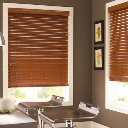 "2"" Fauxwood Economy Blinds"