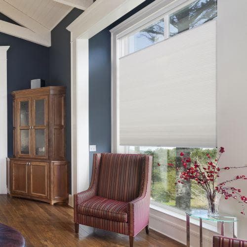 "Insulate your windows with the 3/8"" Blinds.com Cell Shade"