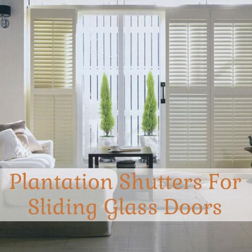 glass-door-shutters & Plantation Shutters for Sliding Glass Doors - The Finishing Touch Pezcame.Com