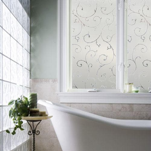 Thomas Hicks Window Film- Etched Lace