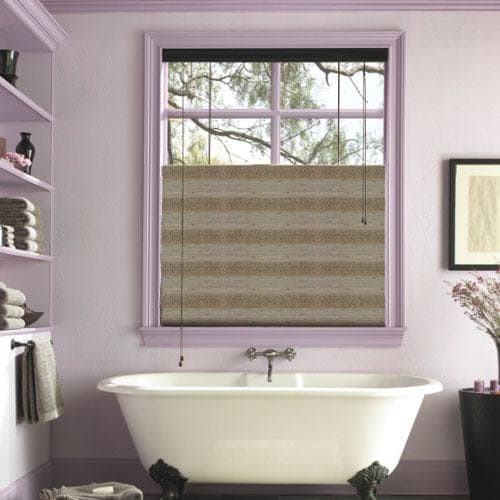 levolor natural woven shades - Bathroom Window Treatments