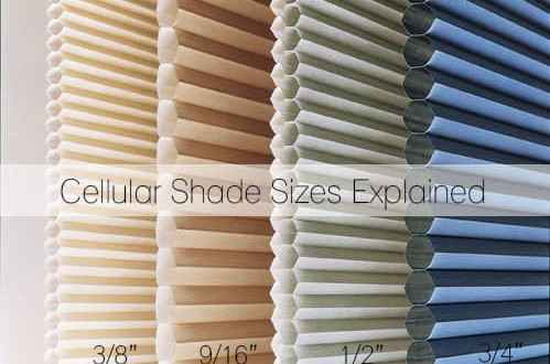 What Cell Size Do I Need Cellular Shade Sizes Explained The