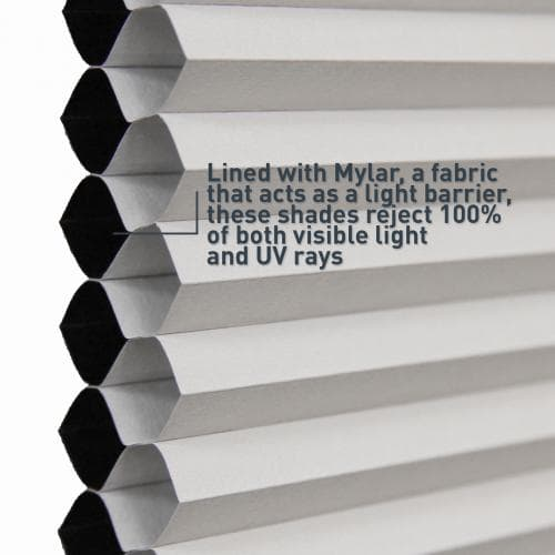 """Blinds.com Brand 3/8"""" Double Cell Blackout Shades"""