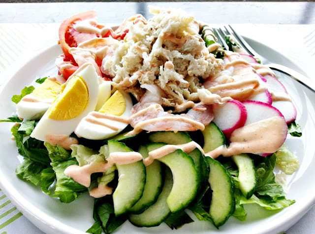 San Francisco Classic for the Big Game: Crab Louis Salad