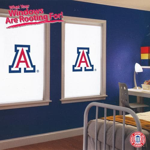 Show your spirit with collegiate roller shades