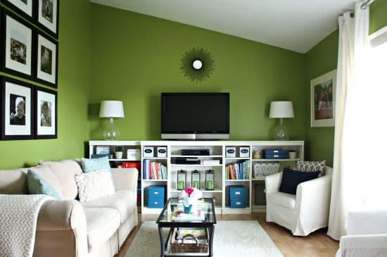 I Heart Organizing Living Room
