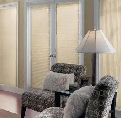 """Bali 3/8"""" Double Cell Light Filtering Shades"""