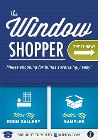 The WIndow Shopper App Blinds.com