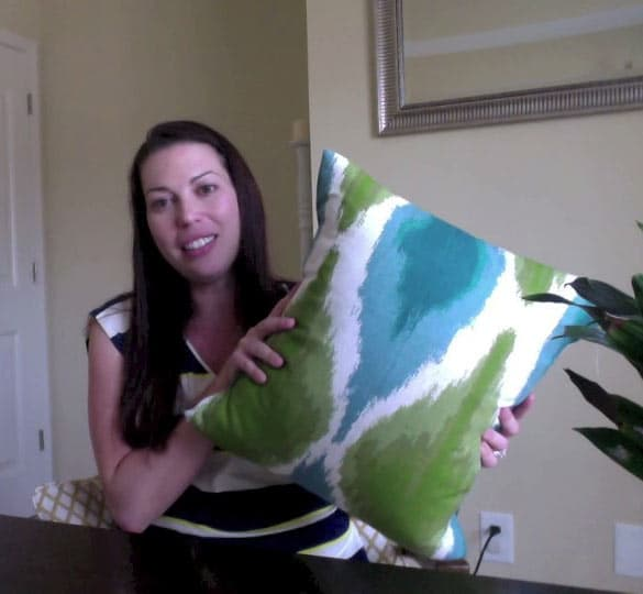 Crafty at Home: Pillow Cover DIY