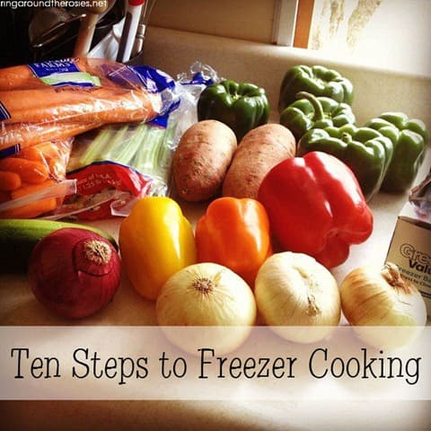 10 Steps to Freezer Cooking