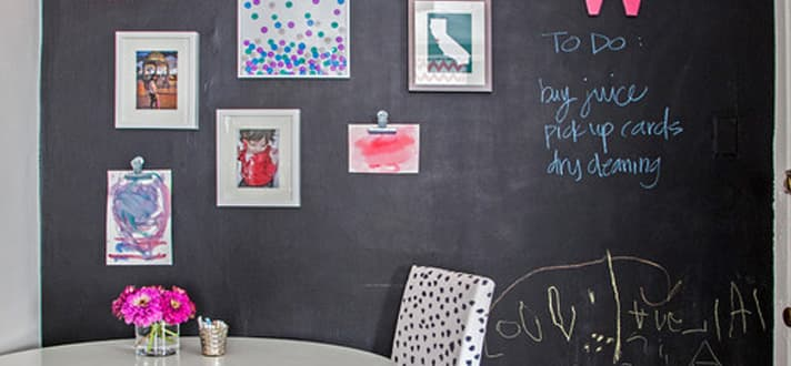 Trends This Year Are All About Interesting Textures, And What Textureu0027s  More Fun Than One That Can Be Written On? Chalkboard Makes A Statement Both  ...