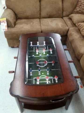 foosball coffee table
