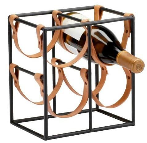 Leather Wine Rack