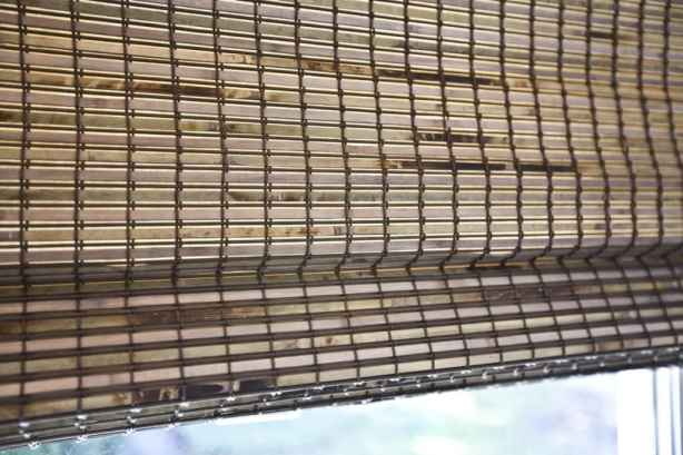 Bali Natural Woven Wood Shades in Cabo Placid