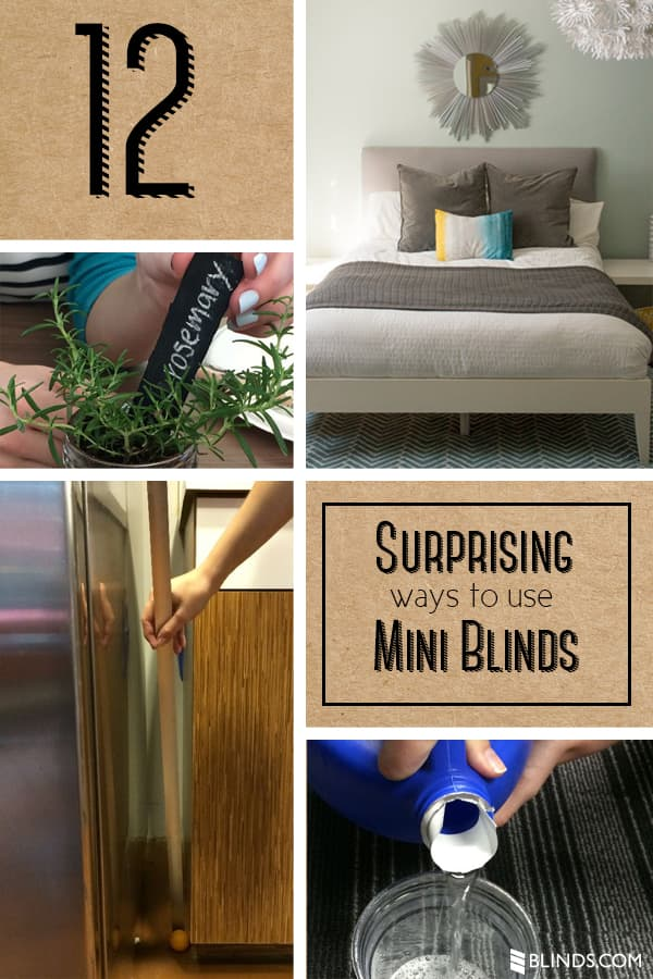 12 Surprising Ways To Use Old Mini Blinds The Blinds Com