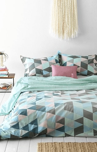pastel bedding - for the dorm