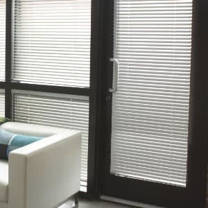 Aluminum-Blinds-for-french-doors & 10 Things You MUST Know When Buying Blinds For Doors - The ...