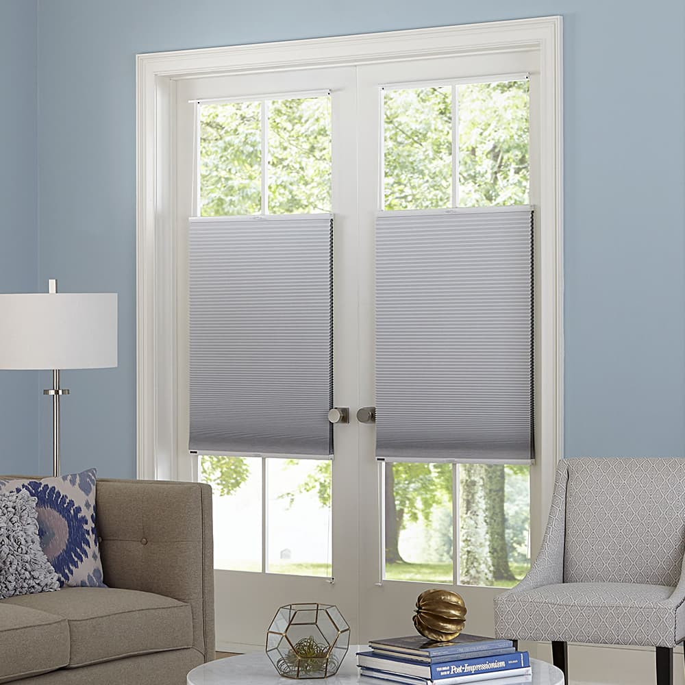 cellular shades for patio door & 10 Things You MUST Know When Buying Blinds For Doors - The Finishing ...
