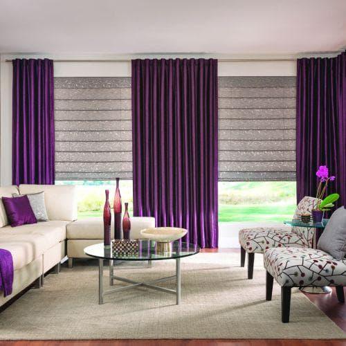 purple and roman