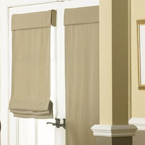 roman-shades-for-front-door & 10 Things You MUST Know When Buying Blinds For Doors - The ... Pezcame.Com