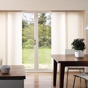 sliding panels for glass door & 10 Things You MUST Know When Buying Blinds For Doors - The Finishing ...